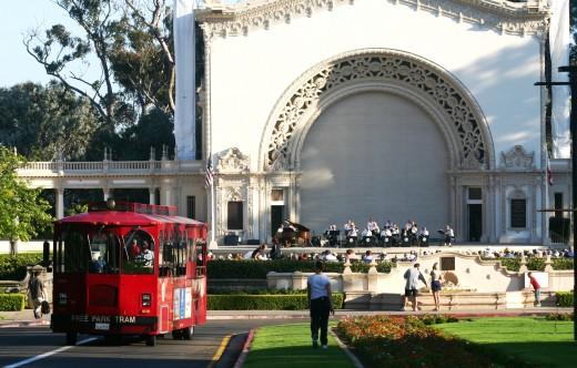 Balboa Park's Spreckels Organ Pavilion