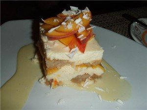 Stingaree's Peach Tiramisu