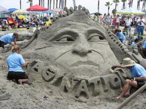 hopefully this sand guy won't sneeze