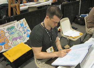 G-Man and Mini Marvels creator Chris Giarrusso sketches the cutest superheroes ever.