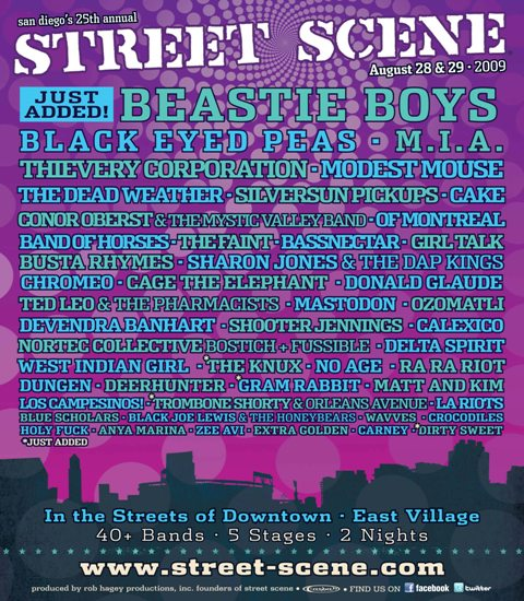 Click to View the 2009 Street Scene Line Up
