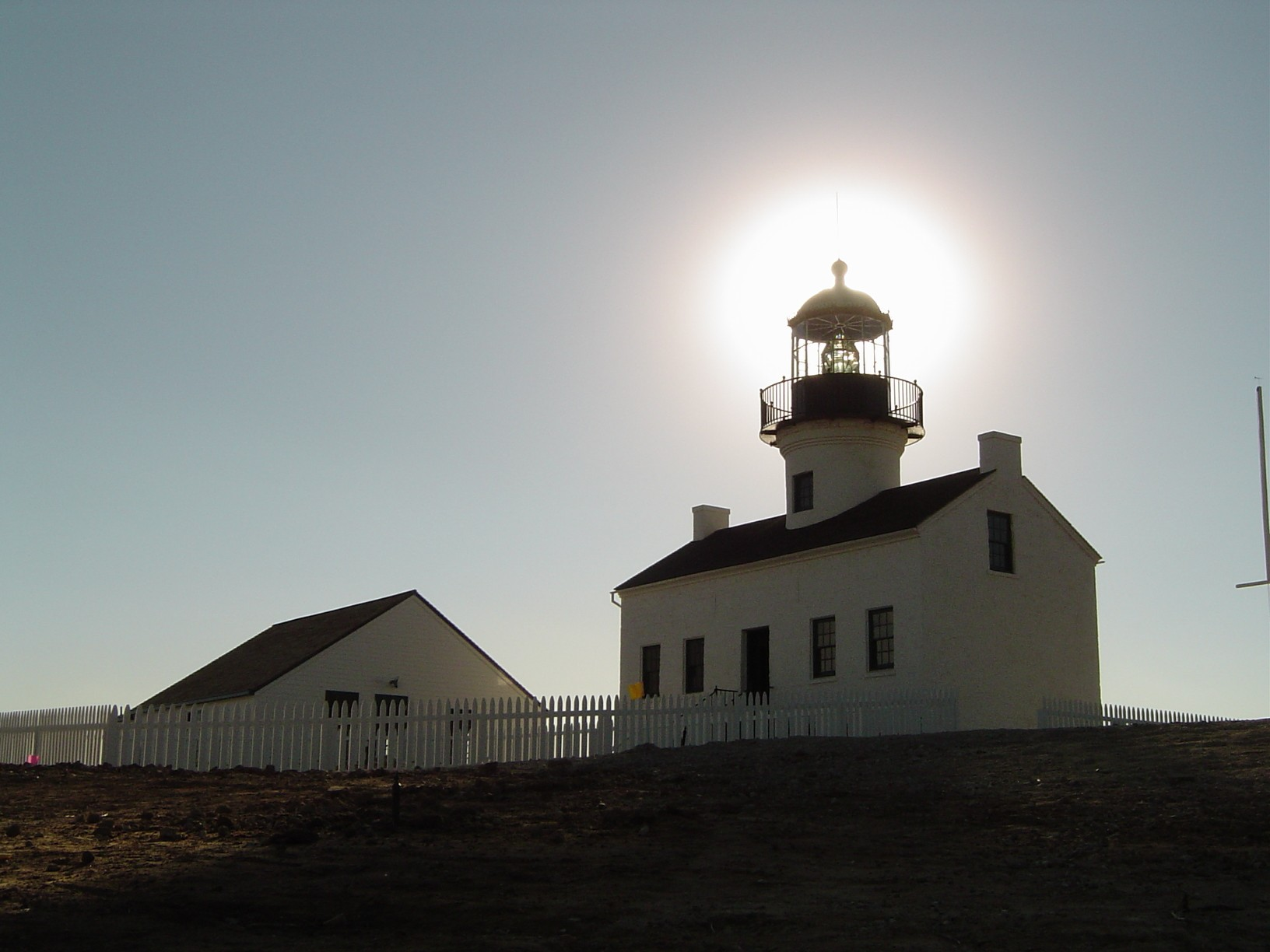 Old Point Loma Lighthouse at the Cabrillo National Monument
