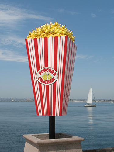 Popcorn Chicken is one of the 30 new Urban Trees on San Diego Bay.