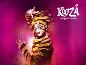 The Trickster from Kooza