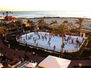 Skating by the Sea at the Hotel del Coronado; Nov 25 – Dec. 18