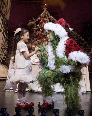 Dr. Seuss' How The Grinch Stole Christmas! at the Old Globe Theatre; Nov. 21 – Dec. 27