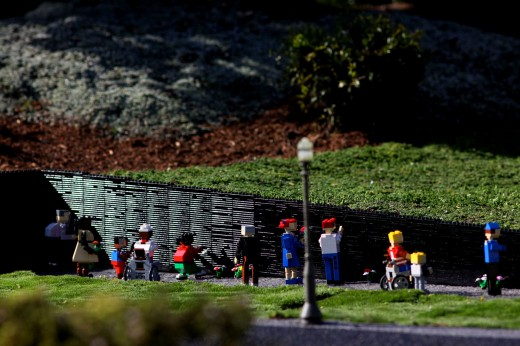 Vietnam Memorial at LEGOLAND California