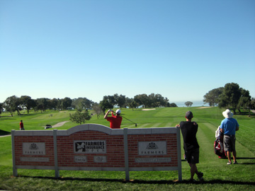 Paul Stankowski gets in on practice round on the North Course at Torrey Pines.
