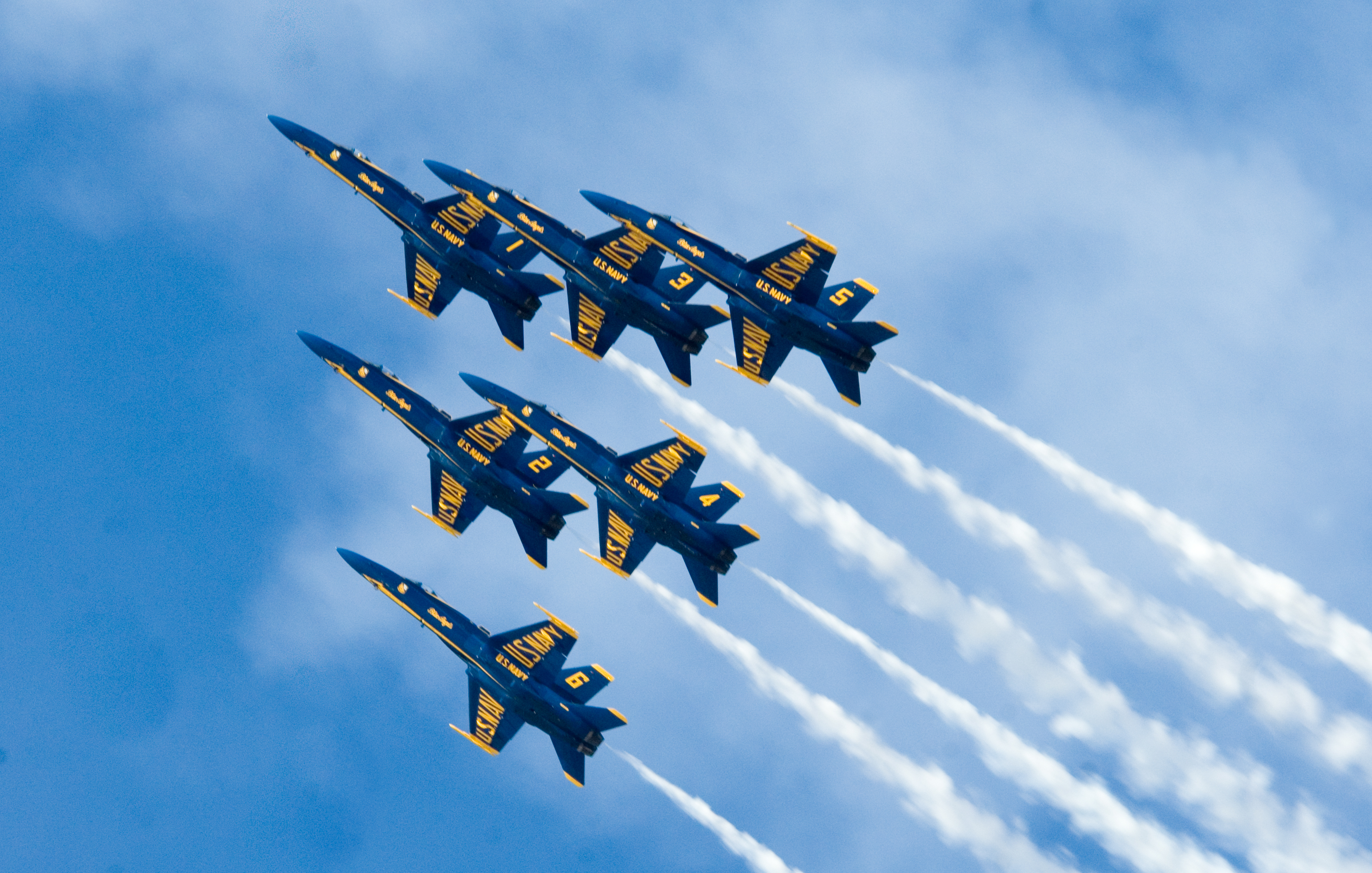 RantWoman and the RSOF: Blessings with Blue Angels