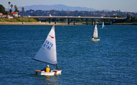 Sail on the Bay