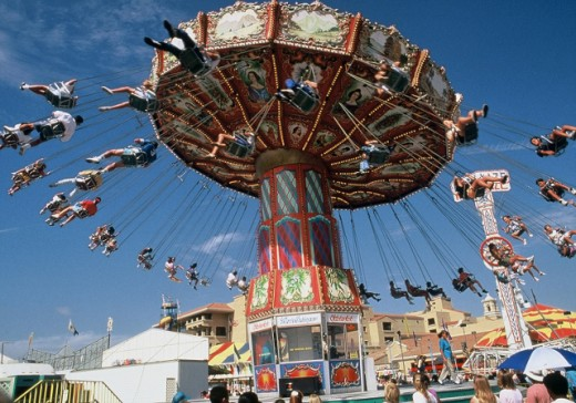 San Diego County Fair Ride