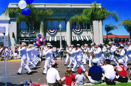 Coronado 4th of July parade (credit: Coronado Visitor Center)