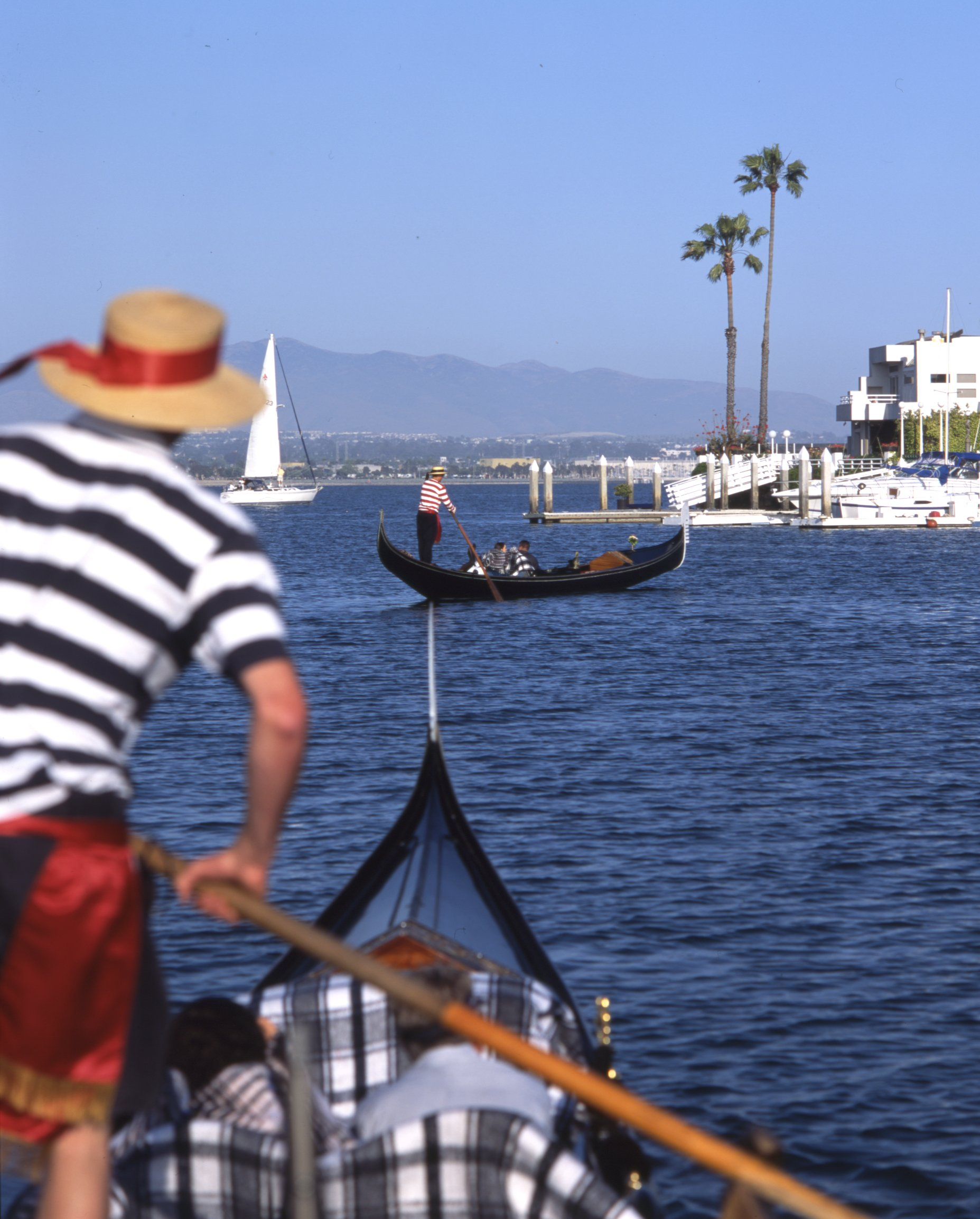 The Gondola Company's romantic cruises through the Coronado Cays