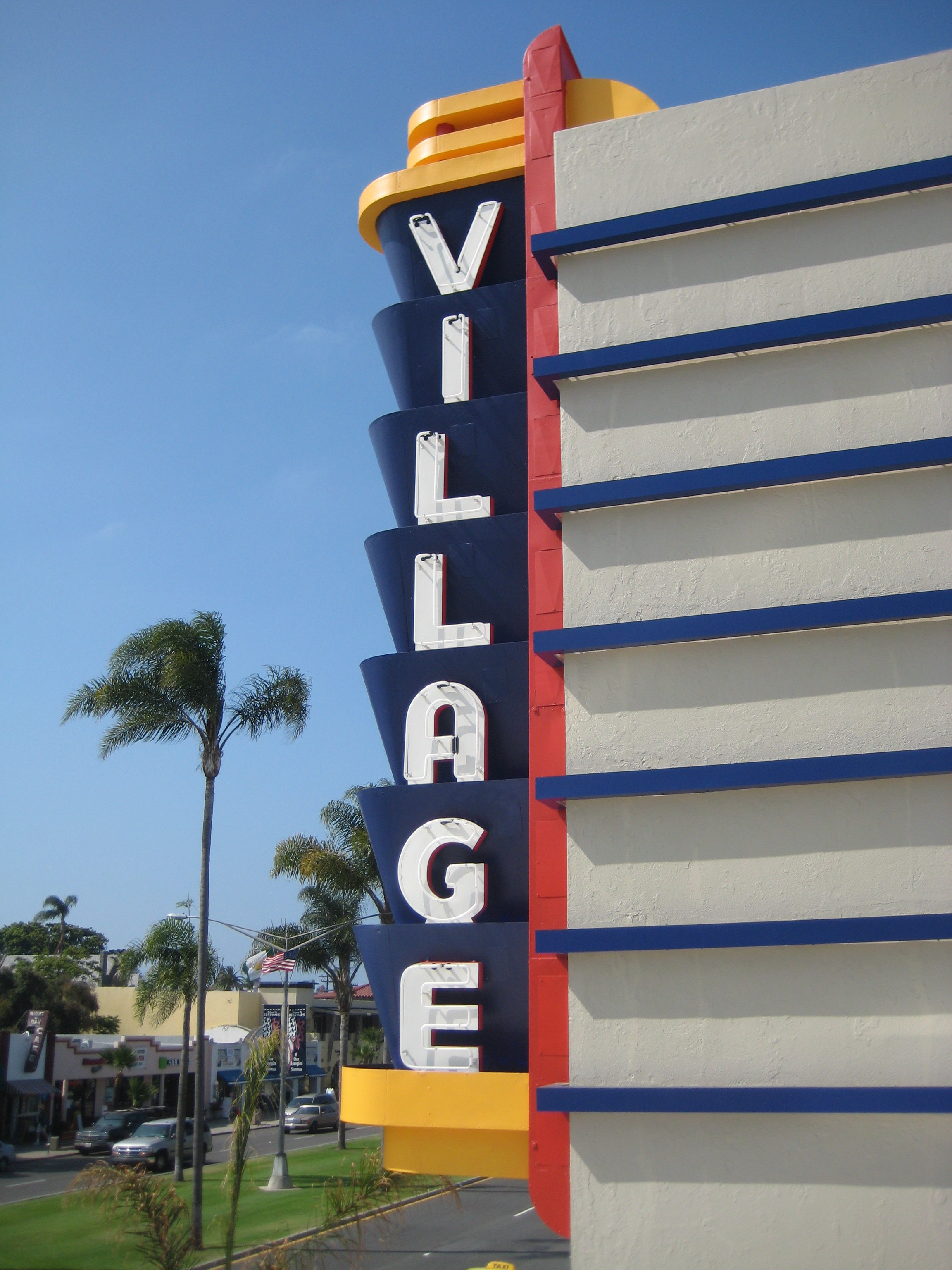 Village Theatre sign3