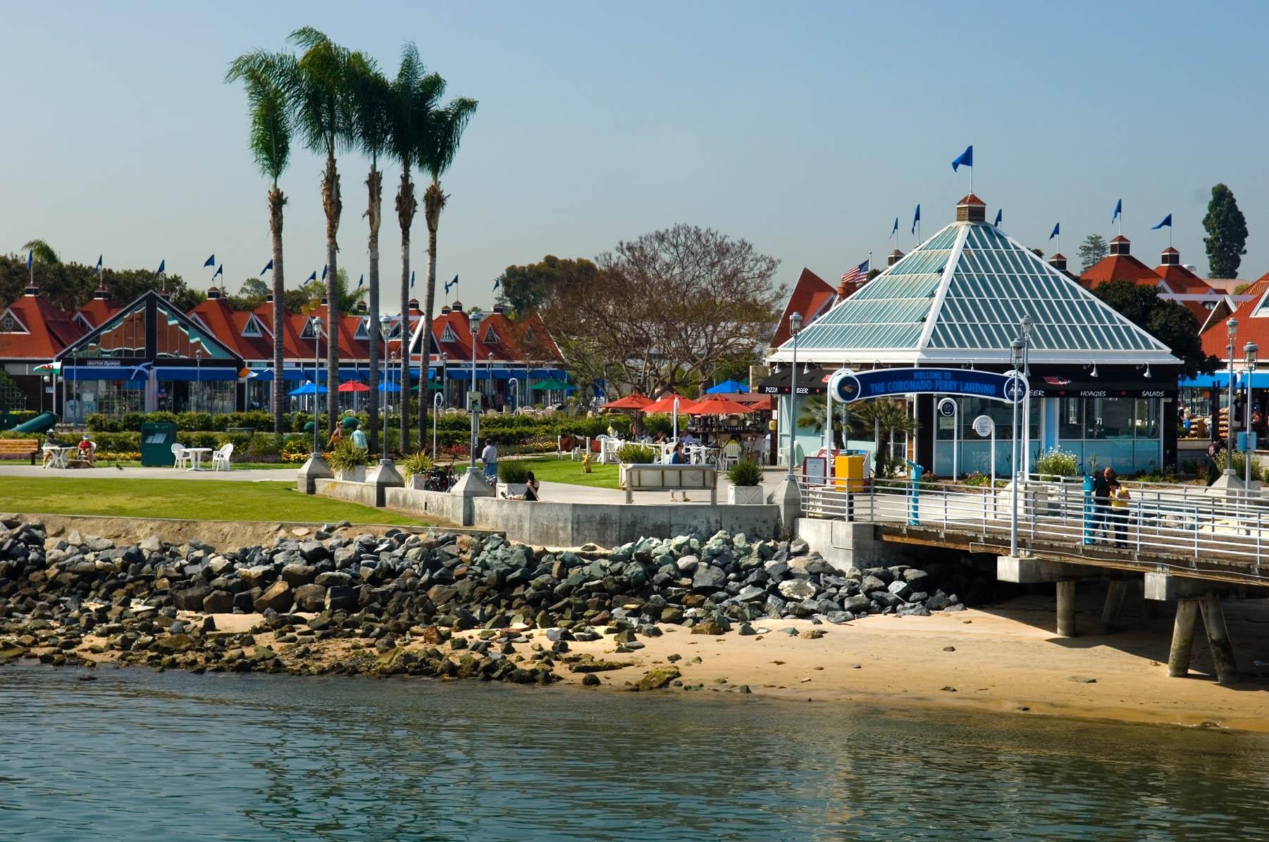 Coronado Ferry Landing Shops Bayside San Diego Travel Blog