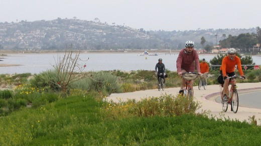 Riding Around Mission Bay