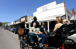 Historic Gold Rush mountain town of Julian
