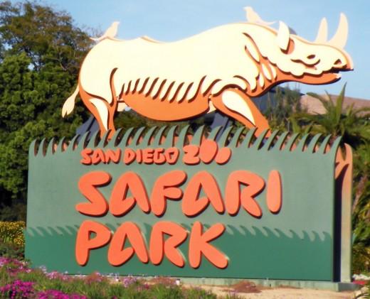 San Diego Zoo Safari Park Sign