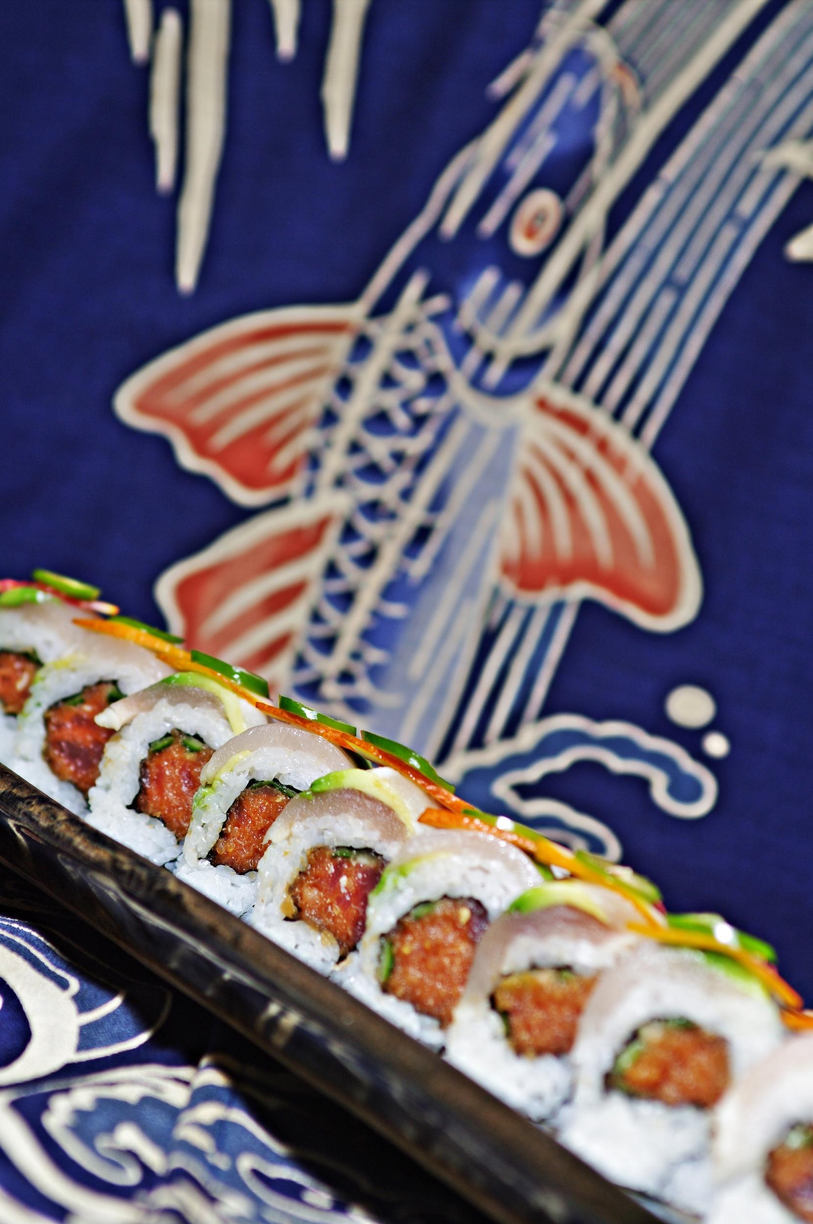 Sushi delights at Saiko Sushi!