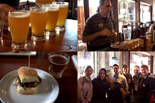 La Jolla Wine Tour Beer Train Tour Collage - The Beer Co.