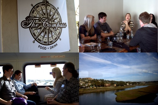 La Jolla Wine Tour Beer Train Tour Collage - Carlsbad and Coaster