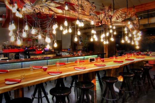 Burlap's Dining Room