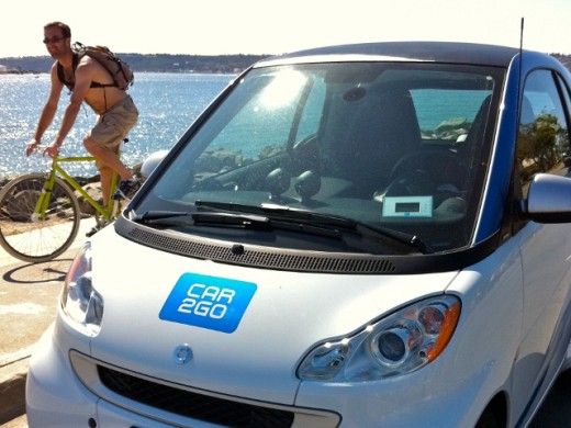 Car2Go Beach & Bike