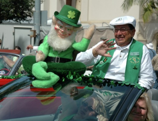 Annual St. Patrick's Day Parade in Balboa Park