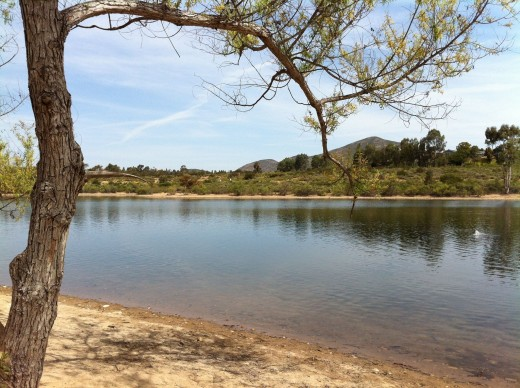 great freshwater fishing spots in san diego