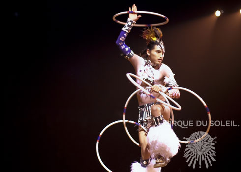 Cirque du Soleil - Totem - Indian Dancer