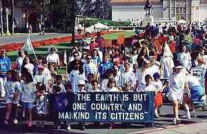 Earth Day Parade in Balboa Park