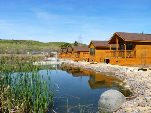 Santee Lakes Cabins