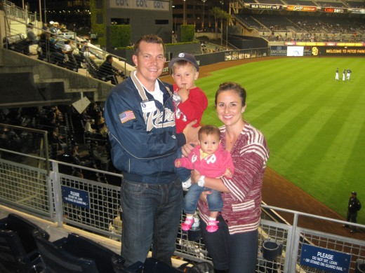 An Entire Family of Padres Fans