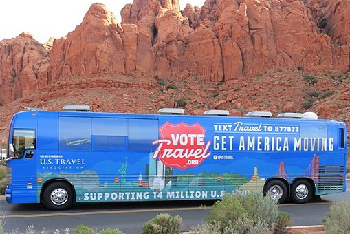 US Tavel Bus - Vote Travel