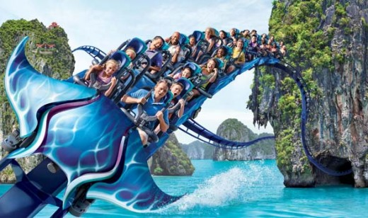 SeaWorld's Manta