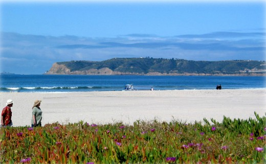 San Diego Beaches - Silver Strand on Coronado