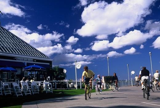 Coronado Ferry Landing - Bikes