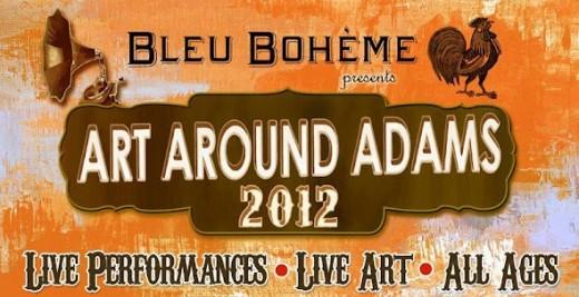 Art Around Adams 2012 Banner
