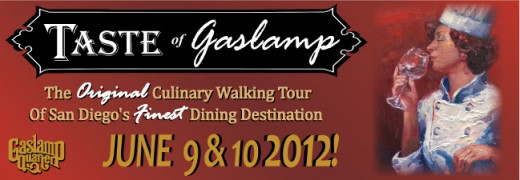 Taste of Gaslamp Logo 2012