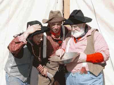 3 Miners - Julian Gold Rush Days