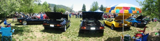 Julian Classic Motoring Show at Menghini Winery in Julian
