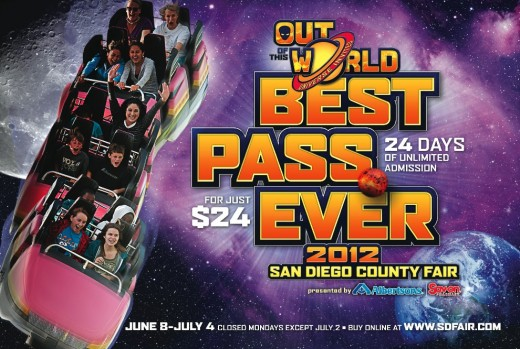 San Diego County Fair Best Pass Ever