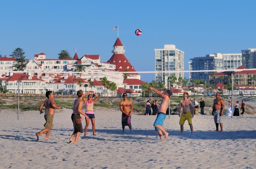 Summer sun, surf and sand in Coronado! (photo credit: Brett Shoaf)