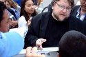 Guillermo del Toro discussing the plot for Hellboy Three.