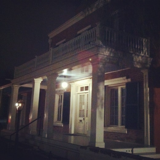 The Whaley House is one of the most haunted houses in America