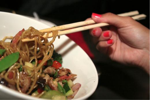 Drunken Noodles at Gaijin Noodle House