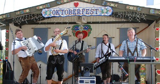 Band Playing at Oktoberfest