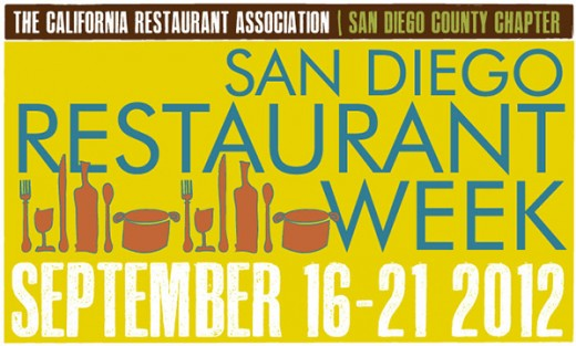 San Diego Restaurant Week Logo