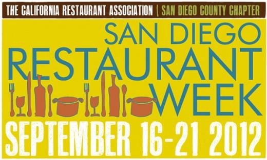 San Diego Restaurant Week Logo