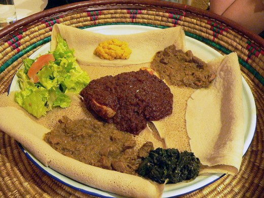Ethiopian Injera and Wat